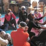 Le toucher - Ecole Jeanne Blum : en groupe