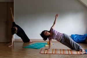 Yoga au sol
